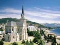 Cathedrale de Bariloche vue du 2ème Mirador